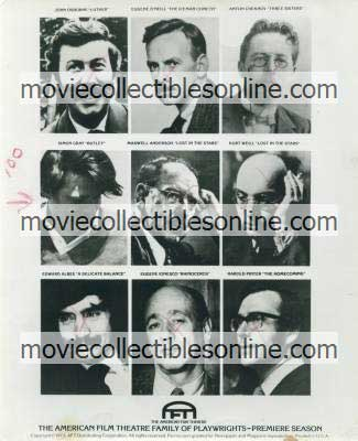 American Film Theatre Family of Playwrights Press Photo