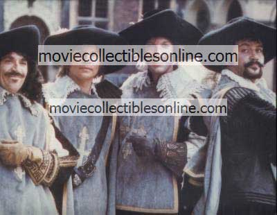 Four Musketeers Lobby Card