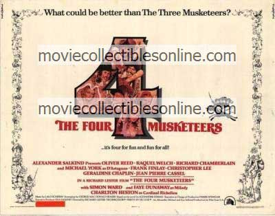 Four Musketeers Poster