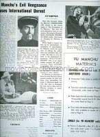 Vengeance of Fu Manchu Press Book